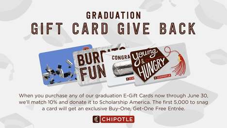 Graduate-Supporting Gift Cards