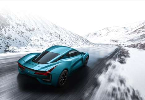 Powerful All-Electric Hypercars