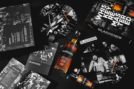 Music-Aged Alcohol Boxes