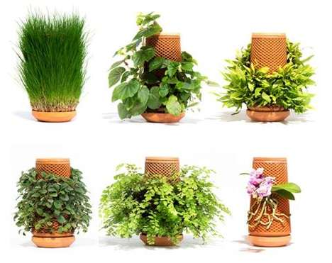 Reusable Hydroponic Planters