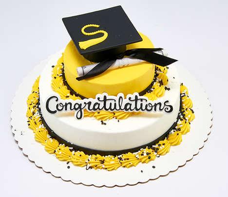 Shrunken Graduation Cakes