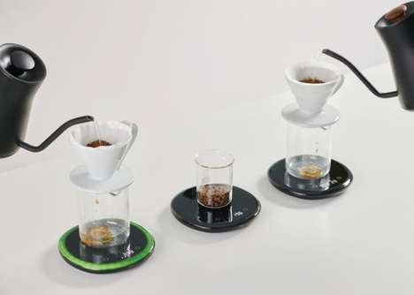 Intelligent Coffee Brewing Scales