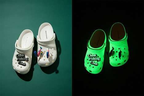Comfy Glow-in-the-Dark Clogs
