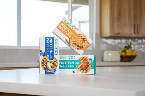 Protein-Packed Frozen Waffles