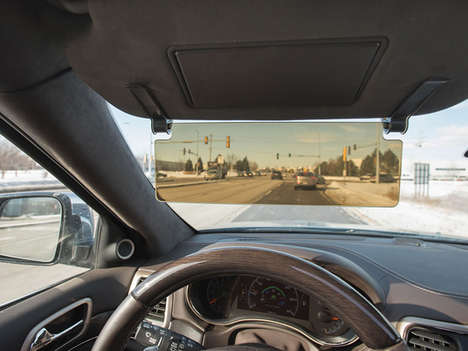Vision-Enhancing Vehicle Visors