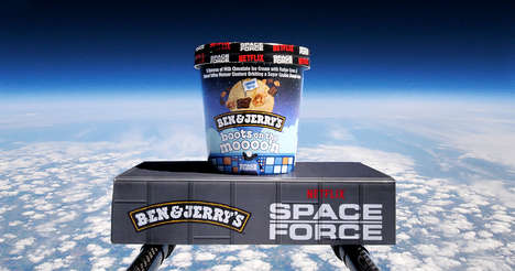 Space-Bound Ice Creams