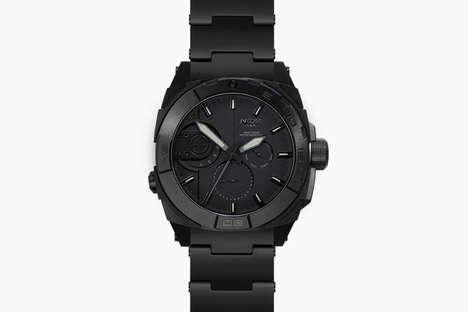 Subtle Militaristic Timepieces