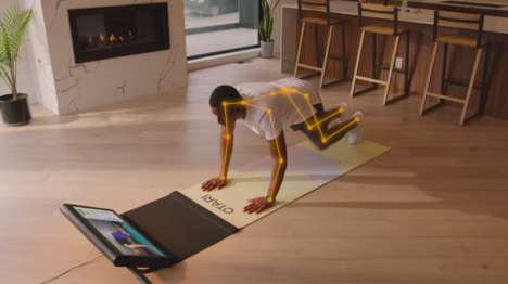 AI-Enabled Fitness Mats
