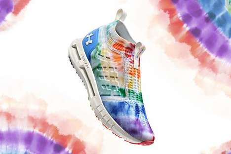 Colorful Pride-Honoring Athleticwear