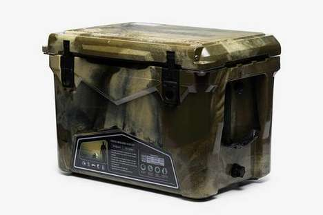Rugged Camo Cooler Boxes