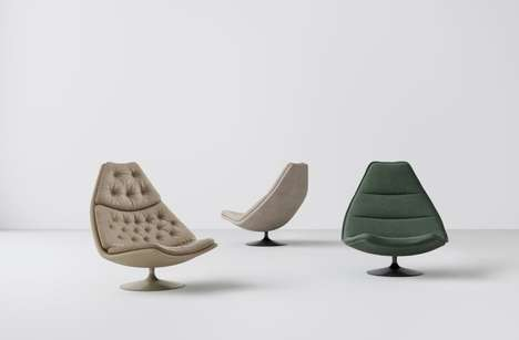 Modernized Mid-Century Seating