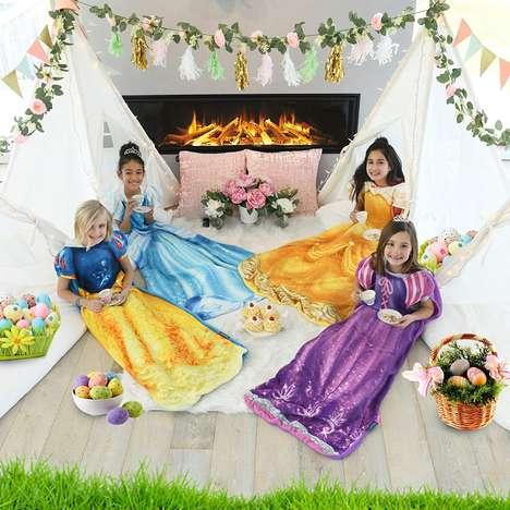 Wearable Princess Blankets