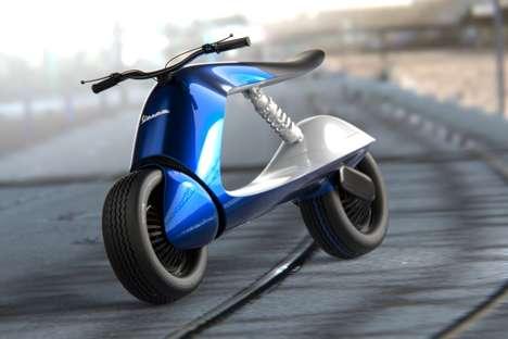 Futuristic Italian Scooter Designs