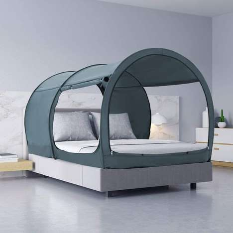 Pop-Up Bed-Mounted Tents