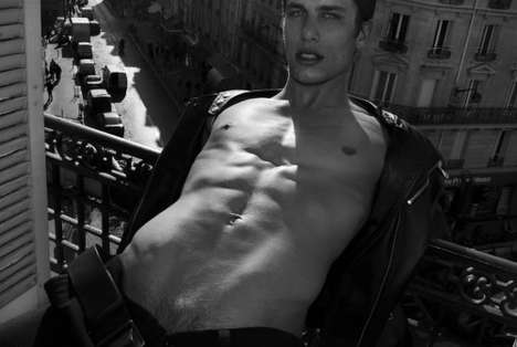 Tony Duran Does Paris With Model Bryce Draper