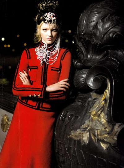 Ornate Russian Fashion