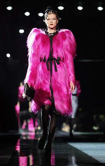 Colorful Furred Fashion