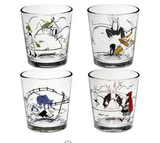 Fairytale Shot Glasses