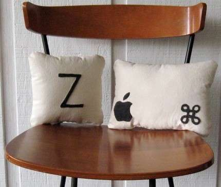 Mac Pillows - Apple Lovers Rejoice Over Geektastic Home Decor