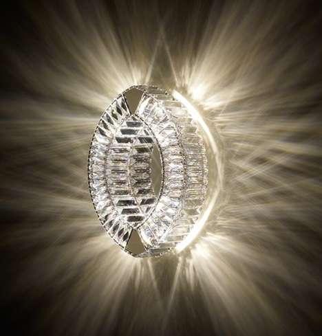 Baguette Ring Lights