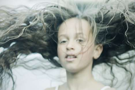Tornado Hair - 'I Am the Storm' by Lill-Veronica Skoglund Features Wild Windswept Hair