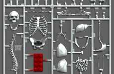 Quirky Anatomy Kits - Jason Freeny Discovers That LEGO Bricks Inhabit All of Us