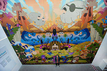 Giant Monster Murals