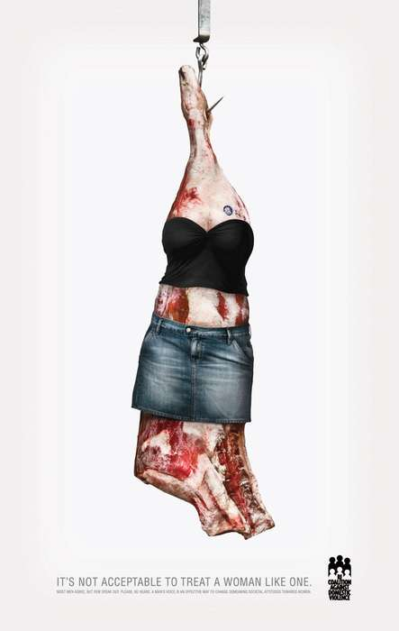 Women as Pieces of Meat