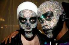 Bling-Encrusted Faces