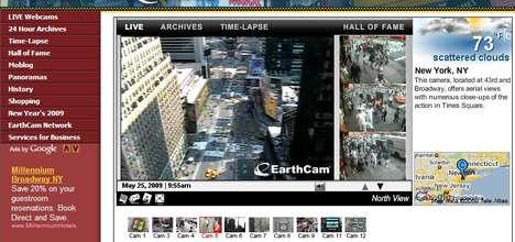 Globe-Trotting Webcams