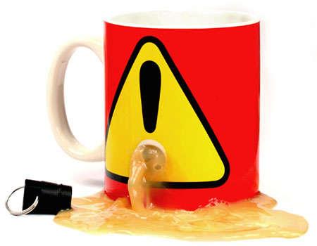 Anti-Theft Coffee Cups