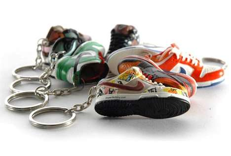 Nike SB Dunk Keychain Has Miniature Branded Foowear