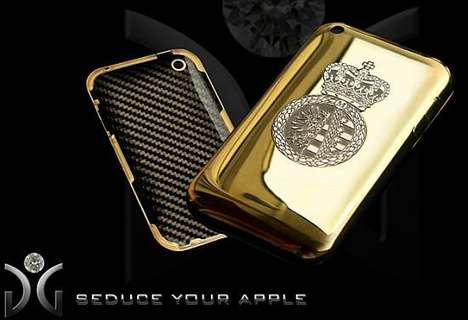 Pimp Out Your Mobile With GnG's Gold & Diamond Case