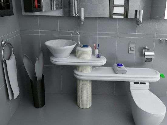 Water Saving Bathrooms Jang Wooseok S Eco Bath System Sends Sink Water To Toilet