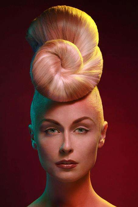 Gravity-Defying Hair - Avant-Garde Designs by Robert Masciave