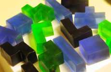 Soap for Gamers - Geeky Blocks of Tetris Soap Make Bathtime a Blast