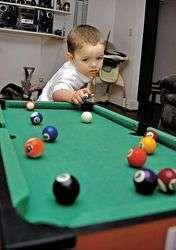 Billiard Playing-Babies