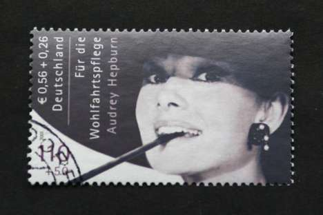 $93,800 Stamps - Audrey Hepurn Postage Fetches Small Fortune at Auction