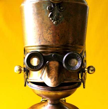 Recycled Robots - Reclaim2Fame Uses 80% Recycled Materials to Make Little Gadget Guys