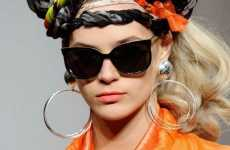 Haute High Head Wraps - Danielle Scutt Shows Towering Hair Accessories for Fall