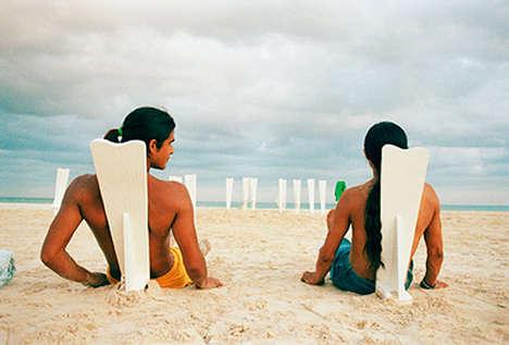 Surfboard Beach Seats