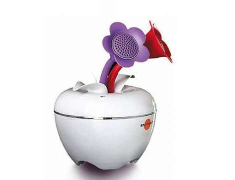 The iPom Tech Flower for the iPod is Touch Sensitive