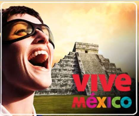 Tricky Tourism Campaigns - New 'Vive Mexico' Ads Combat Swine Flu Fears
