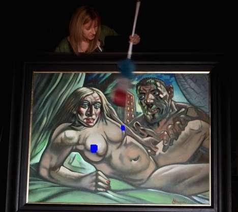 Celebrity Faux-Pas Paintings