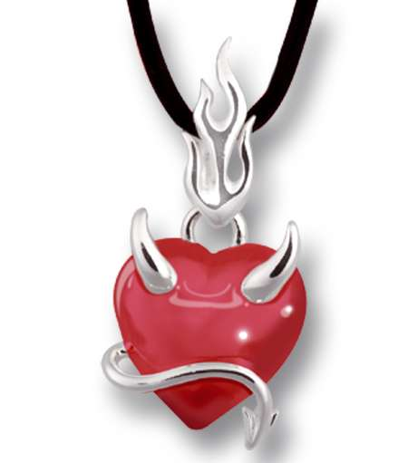 Demonic Flaming Hearts