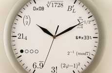 Mathematical Clocks - Time-Tellers That are Perfect for Geeks