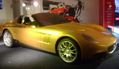 60s Inspired Supercars - Pininfarina 'Golden Ferrari' Based on '65 Spyder