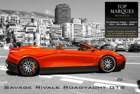 The Savage Rivale Roadyacht GTS Changes into Topless 4-Door