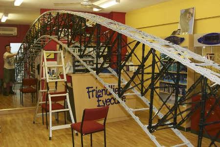 Giant LEGO Bridges