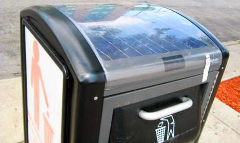The 'Big Belly' Compacts Garbage Using Sun Energy